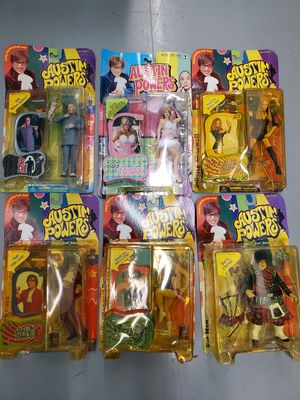 Austin Powers Action Figures Lot by McFarlane Toys 1999 for Sale in Centreville, VA