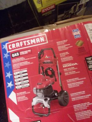 Craftsman 3200PSI gas pressure washer for Sale in New Caney, TX