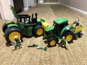 John Deere Gear Force 4WD Tractor and Heavy Hauler Playset for Sale in Montclair, CA