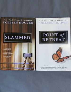 Slammed & Point of Retreat by Colleen Hoover for Sale in Daly City, CA