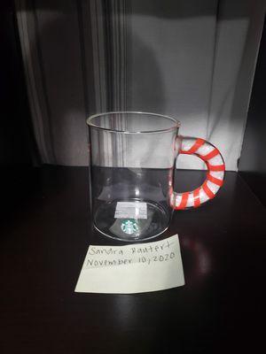 STARBUCKS GLASS COFFEE MUG for Sale in Manteca, CA