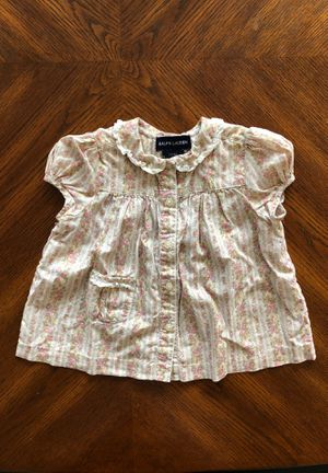 Kids/toddler- Ralph Lauren 12M Girl Top Blouse for Sale in Pleasanton, CA