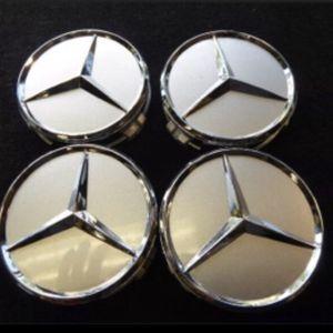 4- Original Mercedes Benz Center Caps for Sale in NJ, US