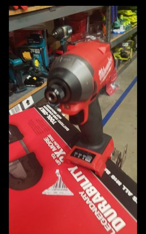 MILWUAKEE M18 FUEL BRUSHLESS 3 GEN SPEED IMPACT DRIVER TOOL ONLY BRAND NEW for Sale in San Bernardino, CA