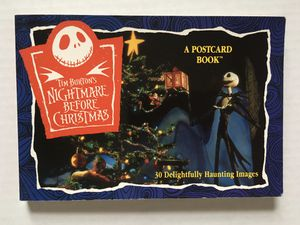 The Nightmare Before Christmas: A Postcard Book for Sale in Hazel Park, MI