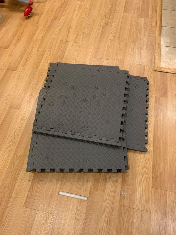 Exercise Mat squares