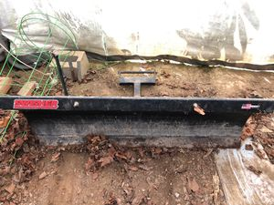 Swisher plow and mounting bracket for Sale in Roseville, OH
