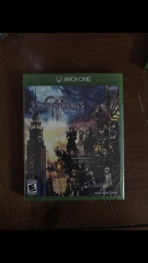 Kingdom Hearts 3 New for Sale in Salt Lake City, UT