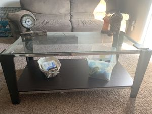 Coffee table and 2 end tables for Sale in Roanoke, VA