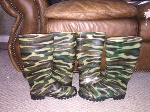 Cute Camo Rain Boots for Sale in Bluffdale, UT
