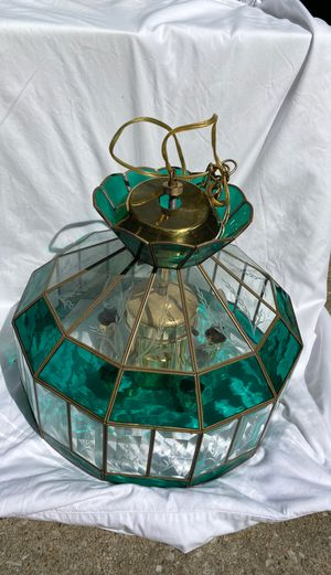 Stained glass light fixture for Sale in Columbia, MO