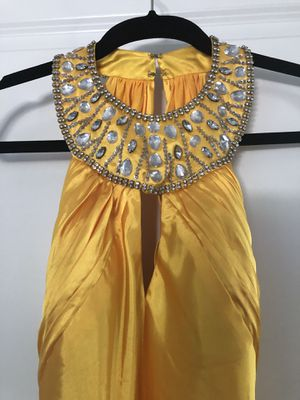 womens satin dress with open back, size 4 for Sale in Fort Myers, FL