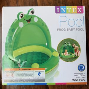 Intex frog inflatable baby pool for Sale in Lake Worth, FL