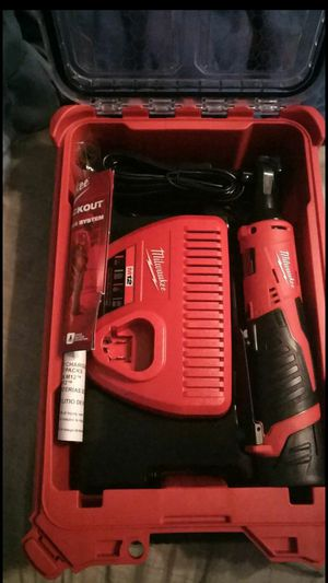 Brand new , unsed Milwaukee 3/8 ratchet with packout box **$200* obo for Sale in Helotes, TX