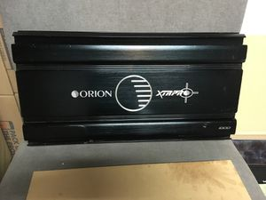 ORION XTR PRO 1000 power amplifier Mono block 2000 watts for Sale in Hemet, CA