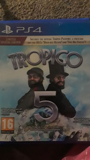Tropico 5 limited edition for PS4 for Sale in Tempe, AZ
