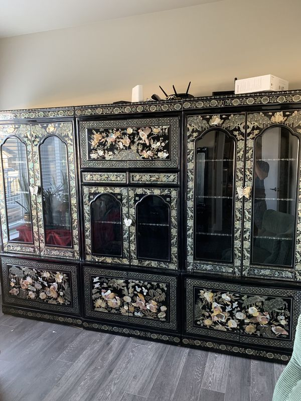 Antique Asian Cabinetry