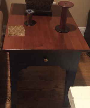 Solid Wood Side Table by Ethan Allan for Sale in McLean, VA