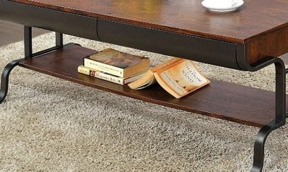 Industrial Coffee Table, Antique Oak for Sale in Commerce,  CA