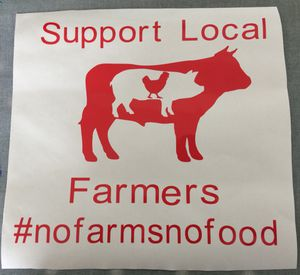 Support Local Farmers Decals for Sale in Mount Olive, NC