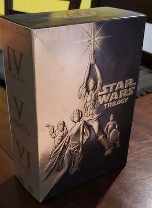 Star Wars Original Trilogy 4-Disc DVD Boxset! for Sale in New Port Richey, FL