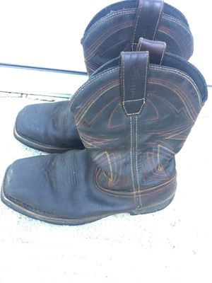 Steal toe boots for Sale in Grand Prairie, TX