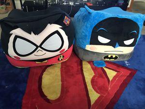 Batman And Robin Plushie Cushion for Sale in Escondido, CA