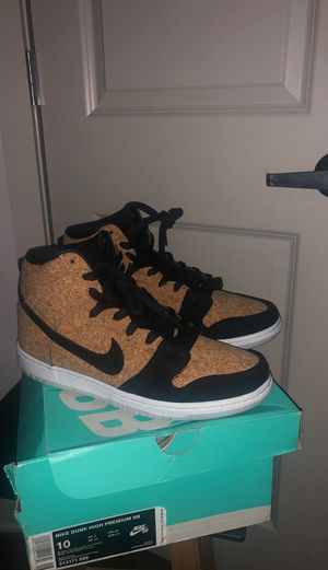 Nike Dunk High SB Cork for Sale in City of Orange, NJ