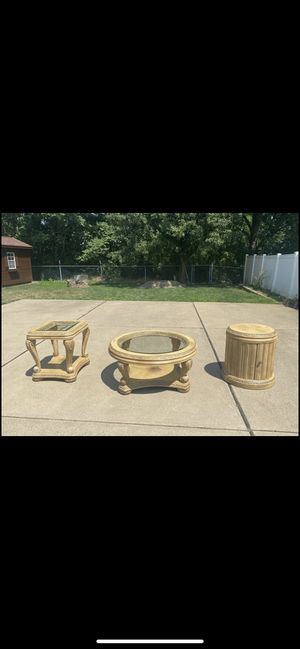 Matching Set of 3 Coffee Tables/End Tables for Sale in West Mifflin, PA