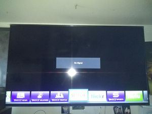 60 inch flat screen TV Vizio hardly used. plastic still on the outside, with TV bracket for Sale in Denver, CO