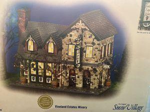 Vineland Estates Winery-Dept 56 Snow Village for Sale in Midland, TX