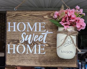 """Country Home Sweet Home Wood Decor 11"""" x 14"""" for Sale in Carlisle, PA"""