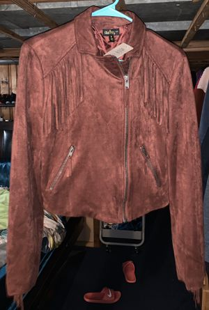 Suede Fringe Jacket for Sale in Florissant, MO