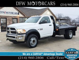 2014 Ram 4500 Regular Cab & Chassis for Sale in Grand Prairie,  TX