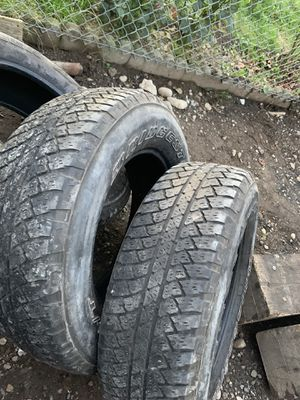 Tires in ok condition 30% o more for Sale in Puyallup, WA