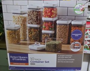 Better Homes and Gardens 10 Pack Container Set for Sale in Washington, DC