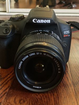 Cannon EOS Rebel t7 w EFS 18-55 mm lens for Sale in Los Angeles, CA