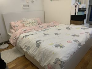 IKEA QUEEN BED FRAME for Sale in PECK SLIP, NY