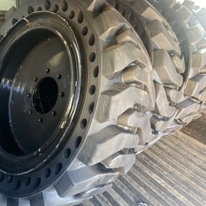 4x Solid Bobcat Tires 12-16.5 $2200 for Sale in San Bernardino, CA