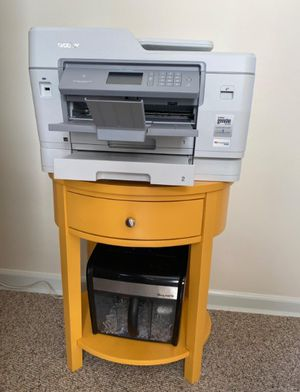 Brand New Yellow Wood Occasional Table w/Drawer +Shelf for Sale in Silver Spring, MD