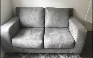 Gray Love Seat Couch for Sale in Lewisville, TX