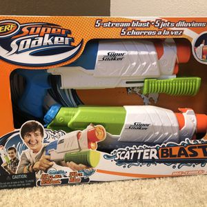 Nerf Super Soaker Water Gun (2-pack) for Sale in Covington, WA