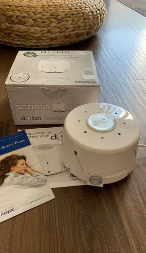 LIKE NEW White Noise Machine for Sale in Seattle, WA