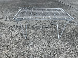 White grid Stackable Shelf for Sale in Coral Gables, FL