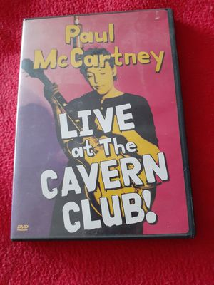 Paul McCartney DVD 1999 Live at the Cavern Club for Sale in Sebring, FL