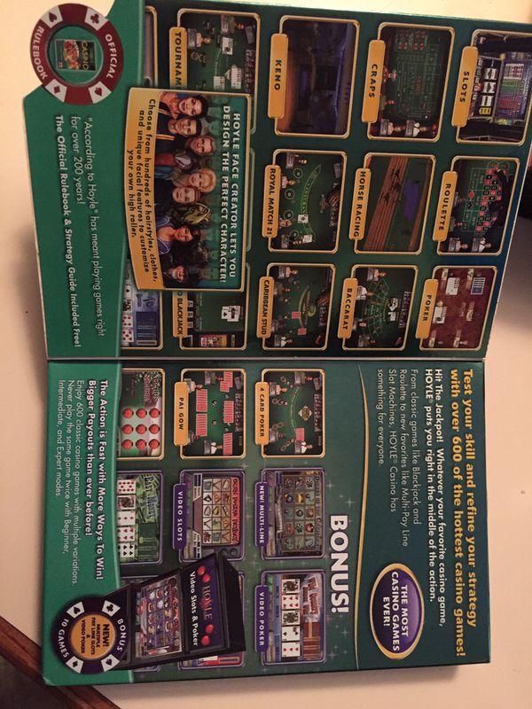 HOYD Casino Games DVD-ROM Software