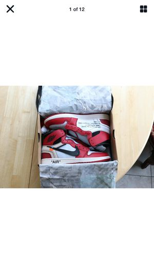 Jordan 1 Retro High Off-White Chicago Size 12 for Sale in Bellingham, WA