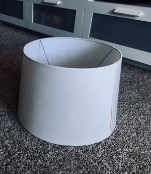 Large White lamp shade for Sale in Denver, CO