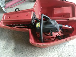 Homelite 16 inch chainsaw for Sale in Carnation, WA