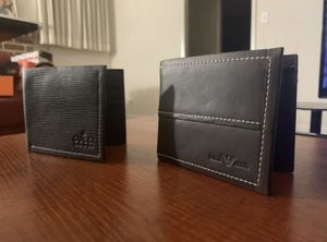 Leather Wallets (set of 2) (new) for Sale in Stockton, CA